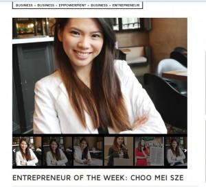 Entrepeneur of the week